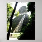 Temple V, Tikal, Guatemala Poster