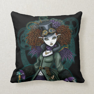 Temple Victorian Steampunk Vampire Angel Pillow