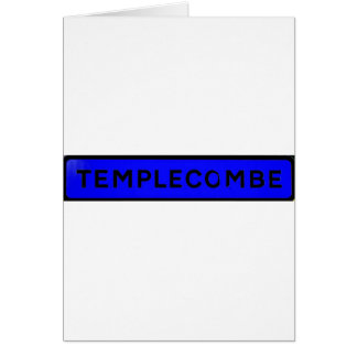 templecombe blue card