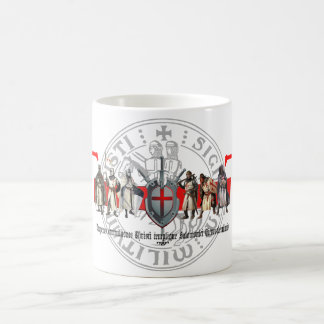 Templer brothers with seal cup coffee mug