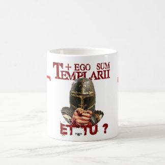 Templertasse ego Sum Templarii Et do? Basic White Mug