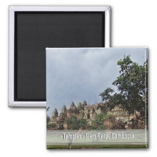 Temples at Siem Reap, Cambodia Magnet