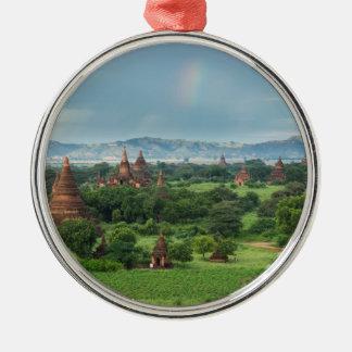 Temples in Bagan, Myanmar Christmas Ornament