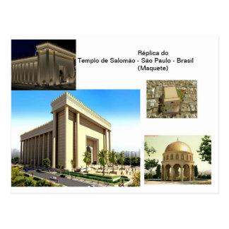 Templo de Salomão - SP Cartao Postal