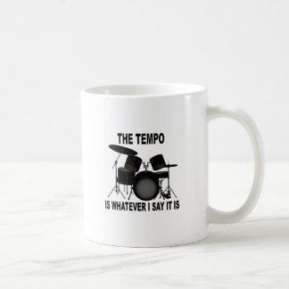 tempo is whatever I say T-shirt M.png Coffee Mug
