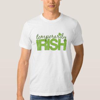 Temporarily Irish T Shirts