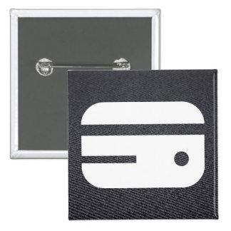 Temporary Credits Pictogram 15 Cm Square Badge