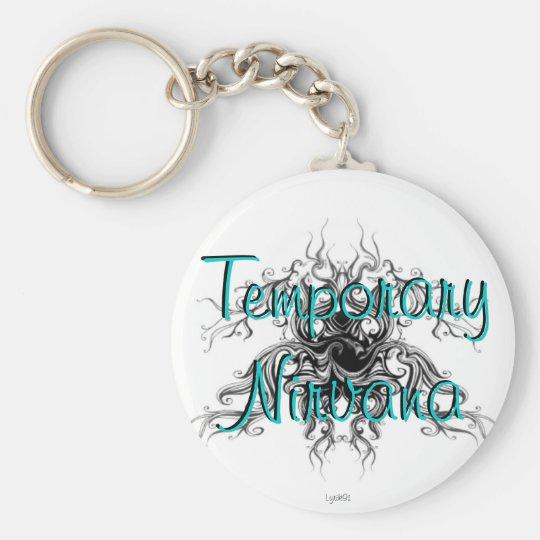 Temporary Nirvana Basic Round Button Key Ring