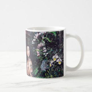 Temptation of Eve Watercolor Painting Basic White Mug