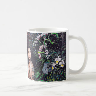 Temptation of Eve Watercolor Painting Coffee Mug