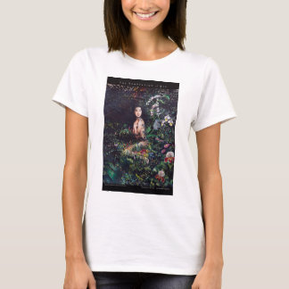 Temptation of Eve Watercolor Painting T-Shirt