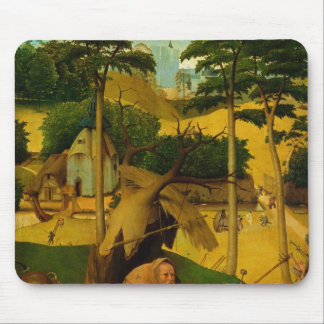 Temptation of St. Anthony, 1490 Mouse Mat