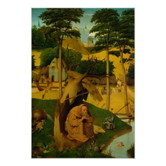 Temptation of St. Anthony, 1490 Poster