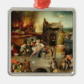 Temptation of St. Anthony Christmas Ornament