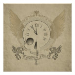 Tempus Fugit (time flies) Poster