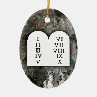 Ten Commandments Christmas Ornament