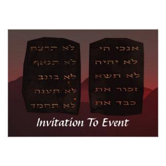 Ten Commandments Custom Announcement