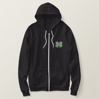 Ten Commandments Embroidered Hoodie