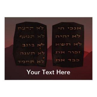 Ten Commandments Invitation