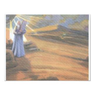 Ten Commandments 11 Cm X 14 Cm Invitation Card