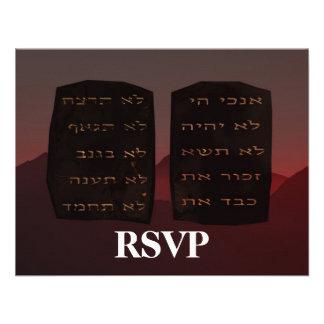 Ten Commandments RSVP Announcements