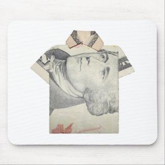 Ten Dollar  T shirt Mouse Pad
