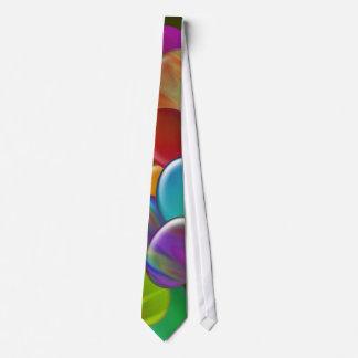 Ten Easter Eggs Rainbow Tie