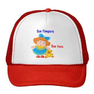 Ten fingers, ten toes cap