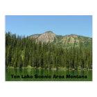 Ten Lake Scenic Area Postcard