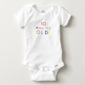 ten Months old cute baby one piece Baby Onesie
