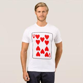 TEN OF HEARTS 3 T-Shirt
