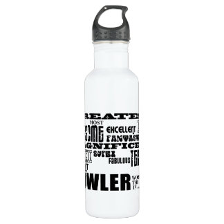 Ten Pin Bowling Bowlers Greatest Bowler World Ever 710 Ml Water Bottle