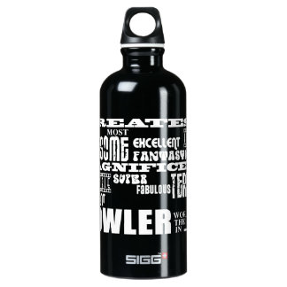 Ten Pin Bowling Bowlers Greatest Bowler World Ever SIGG Traveller 0.6L Water Bottle