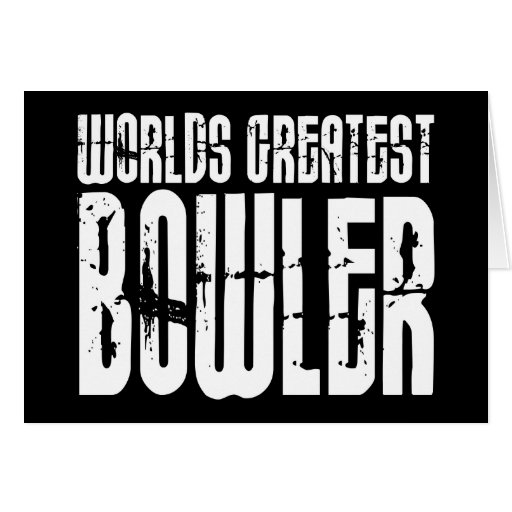 Ten Pin Bowling & Bowlers : Worlds Greatest Bowler Cards