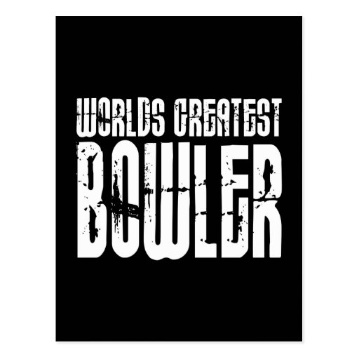 Ten Pin Bowling & Bowlers : Worlds Greatest Bowler Post Cards