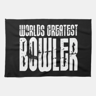 Ten Pin Bowling & Bowlers : Worlds Greatest Bowler Tea Towels
