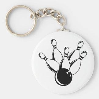 Ten Pin Bowling Key Ring