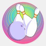 Ten Pin Bowling Sticker