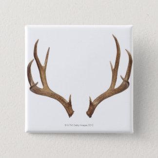 Ten Point Deer 15 Cm Square Badge