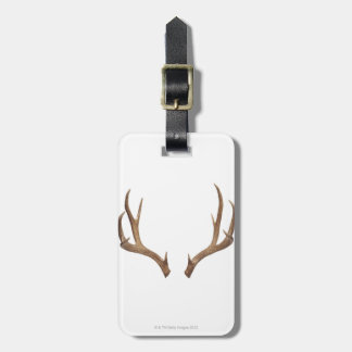 Ten Point Deer Luggage Tag