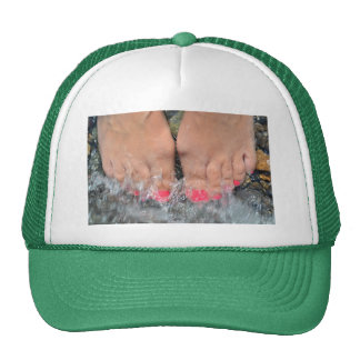 Ten Toes on Holiday Cap
