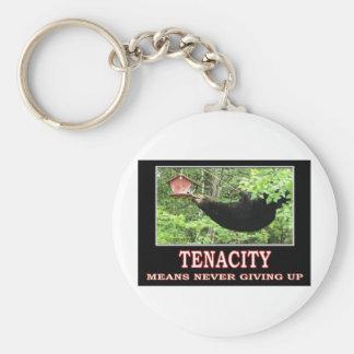 TENACITY BASIC ROUND BUTTON KEY RING