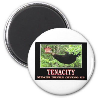 TENACITY 6 CM ROUND MAGNET