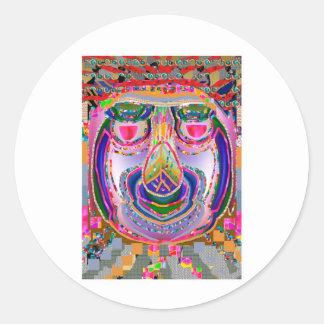 Tenali Ram : Intelligence n Sense of Humor Round Sticker