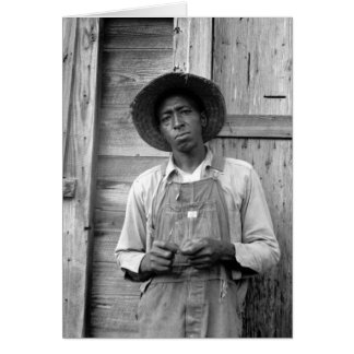 Tenant Farmer - 1939 Greeting Card