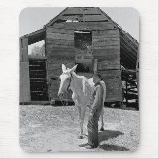 Tenant Farmer s Mule 1930s Mouse Pad