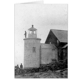 Tenants Harbor Lighthouse Card
