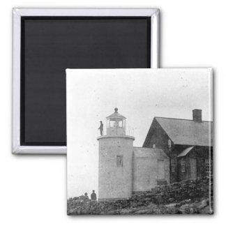 Tenants Harbor Lighthouse Refrigerator Magnet