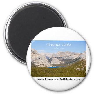 Tenaya Lake Yosemite California Products 6 Cm Round Magnet