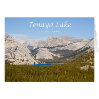 Tenaya Lake Yosemite California Products Greeting Card